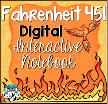 Fahrenheit 451 Digital Interactive Notebook Study Guide