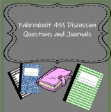 Fahrenheit 451 Discussion/Journal Questions
