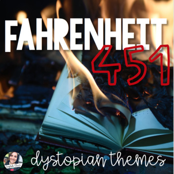 Fahrenheit 451 - Dystopian Themes Worksheet