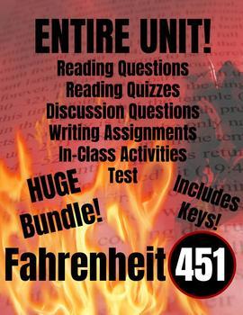 Fahrenheit 451 BUNDLE (Entire Unit)