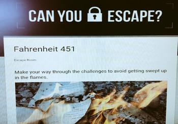 Fahrenheit 451 Escape Room