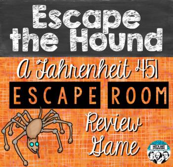 Fahrenheit 451 Review Game Escape Room