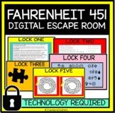 Fahrenheit 451 Digital Escape Room, Virtual Review Game
