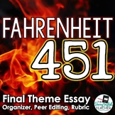 Fahrenheit 451 Final Essay: Analyzing Theme