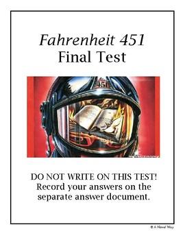 Fahrenheit 451 Final Test