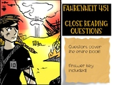 Fahrenheit 451 Focused Questions Whole Book