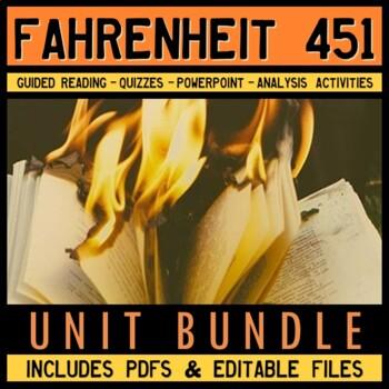 Fahrenheit 451 Full Unit Plan Bundle
