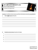 Fahrenheit 451 - Internet Scavenger Hunt Activity