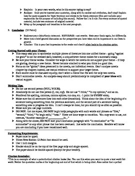 fahrenheit literary analysis essay assignment by jennifer  fahrenheit 451 literary analysis essay assignment
