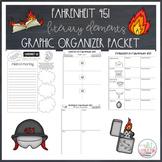 Fahrenheit 451 Literary Elements Graphic Organizer Booklet