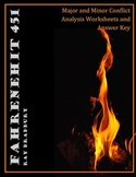 Fahrenheit 451 Major and Minor Conflict Analysis Worksheet