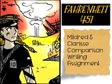 Fahrenheit 451 Mildred and Clarisse Comparison