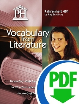 Fahrenheit 451 Vocabulary from Literature