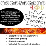 Fahrenheit 451 Novel Project