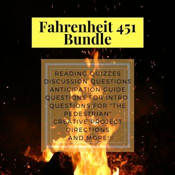 Fahrenheit 451 Novel Study Materials