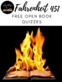 Fahrenheit 451 Open Book Quiz Questions