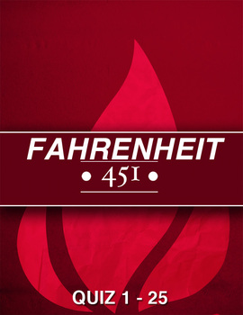 Fahrenheit 451 Pages 1 - 25 Quiz + Answers