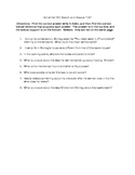 Fahrenheit 451 Part 1 Reading test