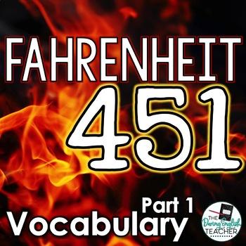 Fahrenheit 451 Part 1 Vocabulary Pack