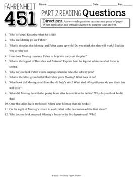 fahrenheit 451 part 2 quiz