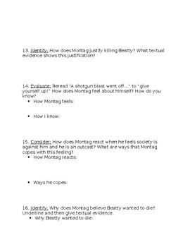 Fahrenheit 451 Part 3 Daily Reading