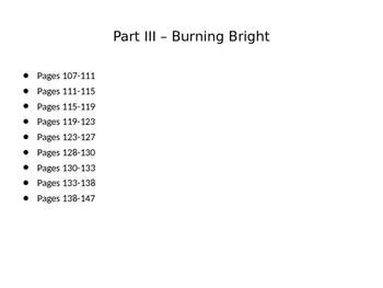 Fahrenheit 451 Part III Jigsaw Directions