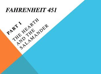 Fahrenheit 451- Powerpoints on the Entire Novel