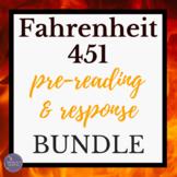 Fahrenheit 451 Digital Interactive Activities Bundle for G