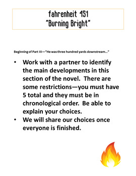 Fahrenheit 451:  Projects and Activities