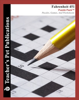 Fahrenheit 451: Puzzle Pack - Crosswords, Worksheets, Games