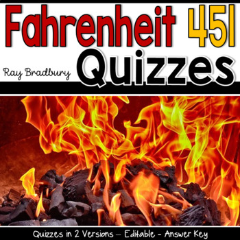 Fahrenheit 451 Quizzes
