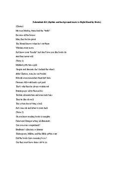 Fahrenheit 451 Rap