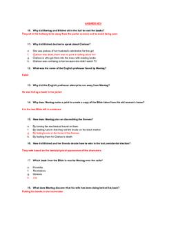 Fahrenheit 451 (Ray Bradbury) The Sieve and the Sand Reading Quiz