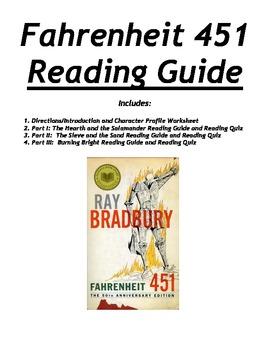 Fahrenheit 451 Reading Guide