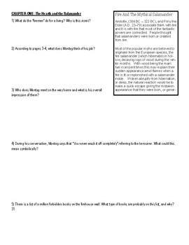 Fahrenheit 451 Reading Packet