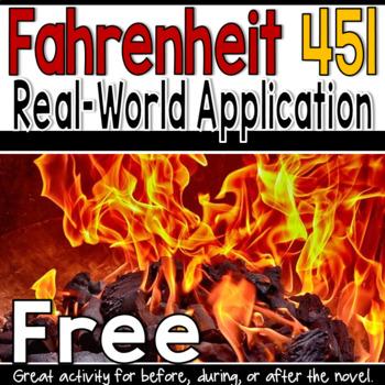 Free Fahrenheit 451 Real-World APP Activity