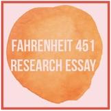 Fahrenheit 451 Research Essay