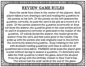 Fahrenheit 451 Review Game