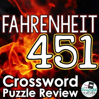 Fahrenheit 451 Review Crossword Puzzle with Answer Key