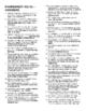 Fahrenheit 451--Short Answer Tests