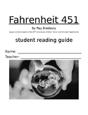 Fahrenheit 451 Student Reading Guide