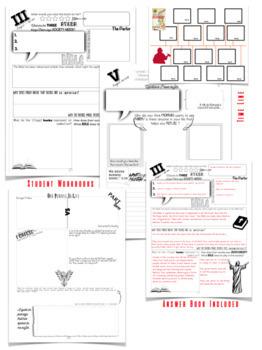 Fahrenheit 451 Student Workbook (Paper AND Digital Version)