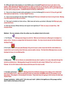 Fahrenheit 451 Test / Unit Exam with Answer Key