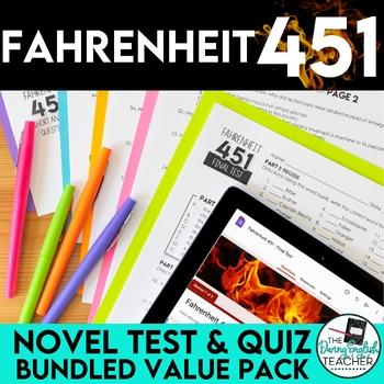 Fahrenheit 451 Test and Quiz Value Pack