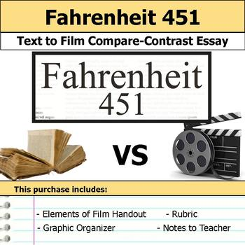 Fahrenheit 451 - Text to Film Essay