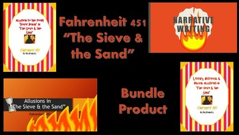 "Fahrenheit 451 ""The Sieve & the Sand"" Bundle Product!"