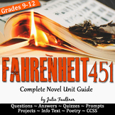 Fahrenheit 451 Unit Plan, Literature Guide