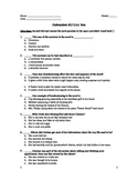 Fahrenheit 451- Test and Answer Key