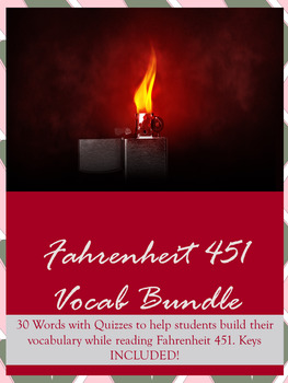 Fahrenheit 451 Vocabulary Lists and Quizzes