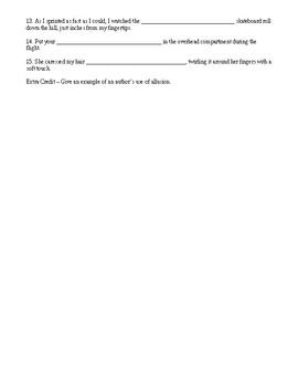 Fahrenheit 451 - Vocabulary Quiz - Burning Bright